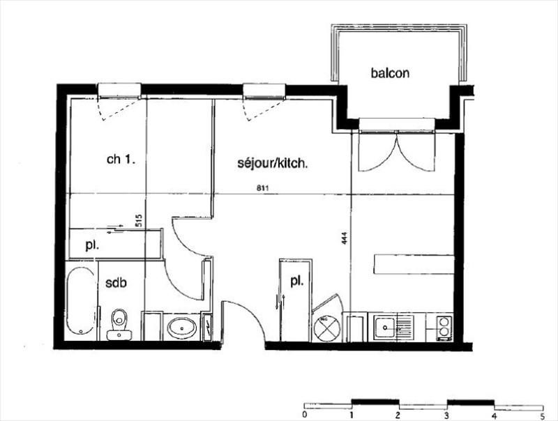 Vente appartement Montauban 65000€ - Photo 2