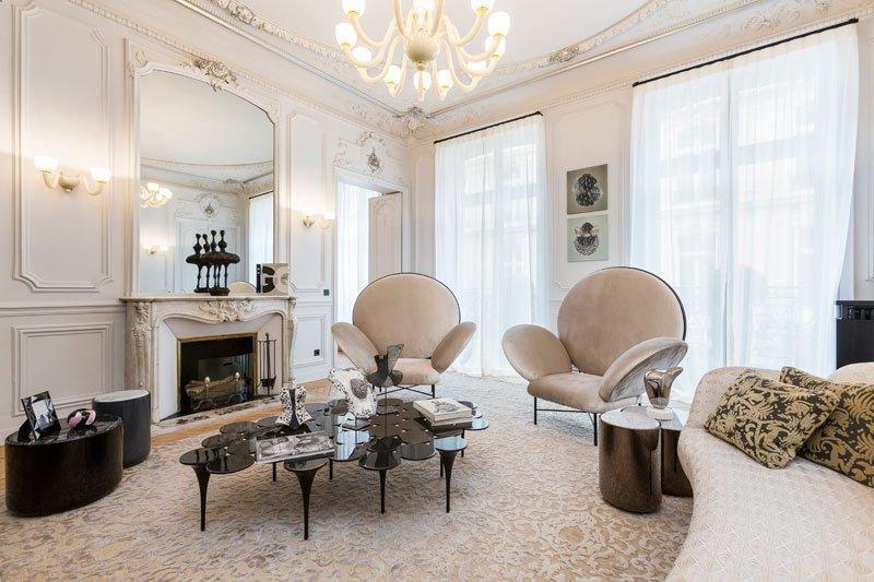 Verkoop van prestige  appartement Paris 8ème 5830000€ - Foto 4