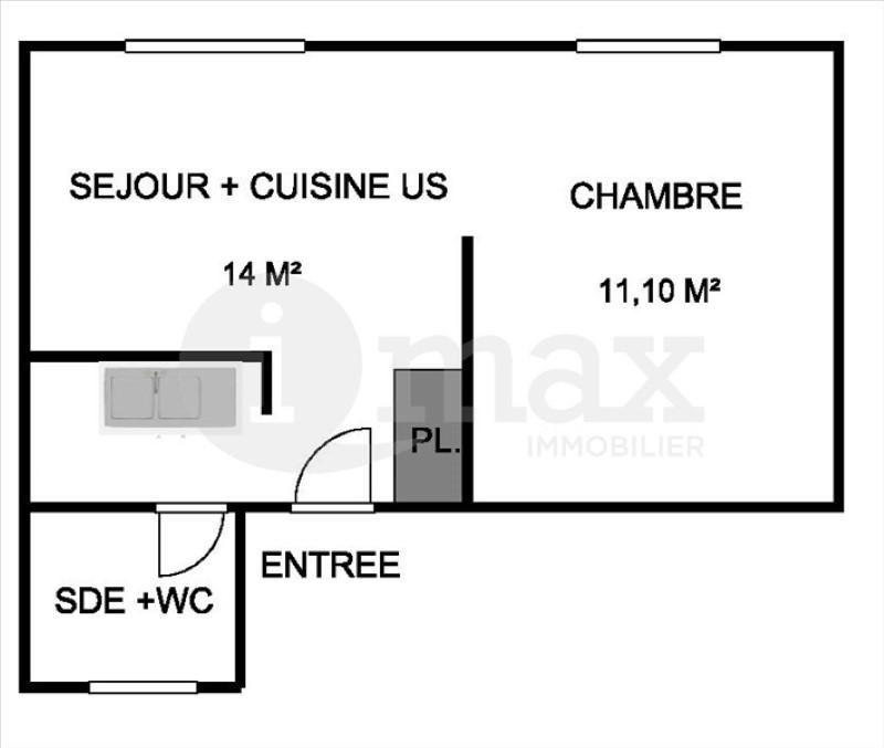 Sale apartment Asnieres sur seine 194000€ - Picture 4
