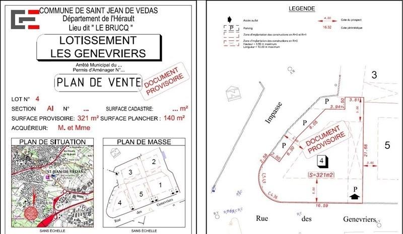 Sale site St jean de vedas 199500€ - Picture 1