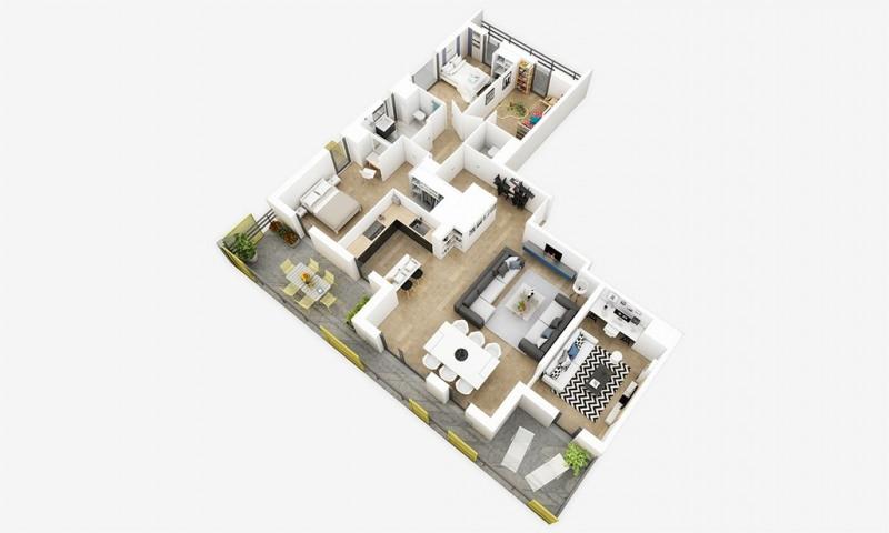 Investissement Studio 37m² Rennes