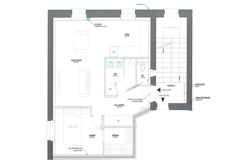 Vente appartement Decines charpieu 109900€ - Photo 1