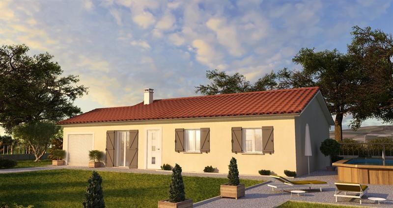 Maison  4 pièces + Terrain 420 m² Labarthe sur Lèze (31860) par Villas JB LUNION
