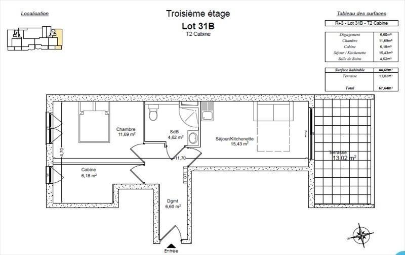 Vente de prestige appartement Bormes les mimosas 319000€ - Photo 2