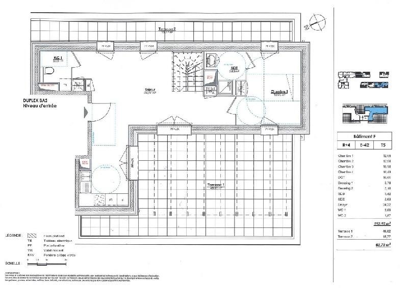 Vente de prestige appartement Lyon 8ème 574000€ - Photo 3