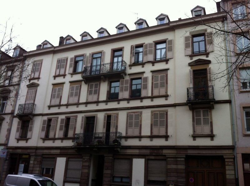 Rental apartment Strasbourg 830€ CC - Picture 1