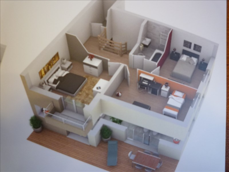 Sale apartment Jonzier epagny 395 000€ - Picture 4