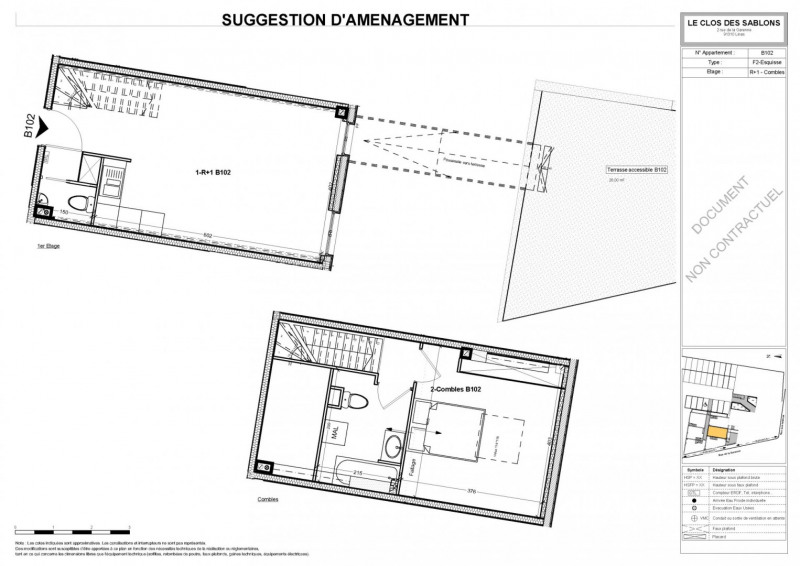 Vendita appartamento Linas 150675€ - Fotografia 4