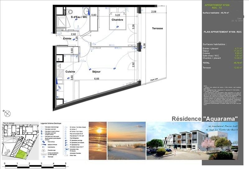 Vente appartement La teste de buch 295000€ - Photo 2