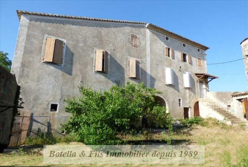 Vente maison / villa Barjac 289 000€ - Photo 1