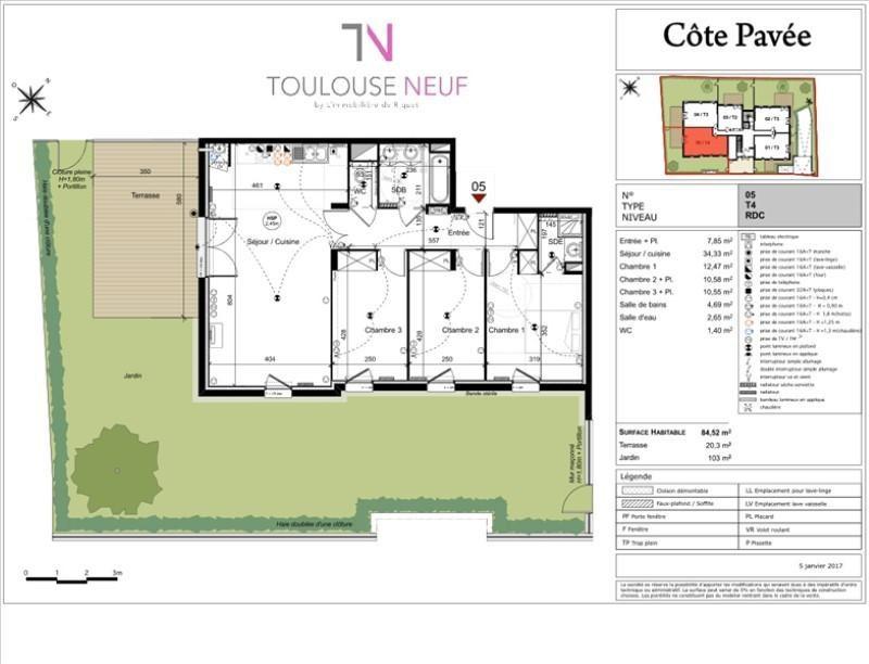 Vente appartement Toulouse 368000€ - Photo 8