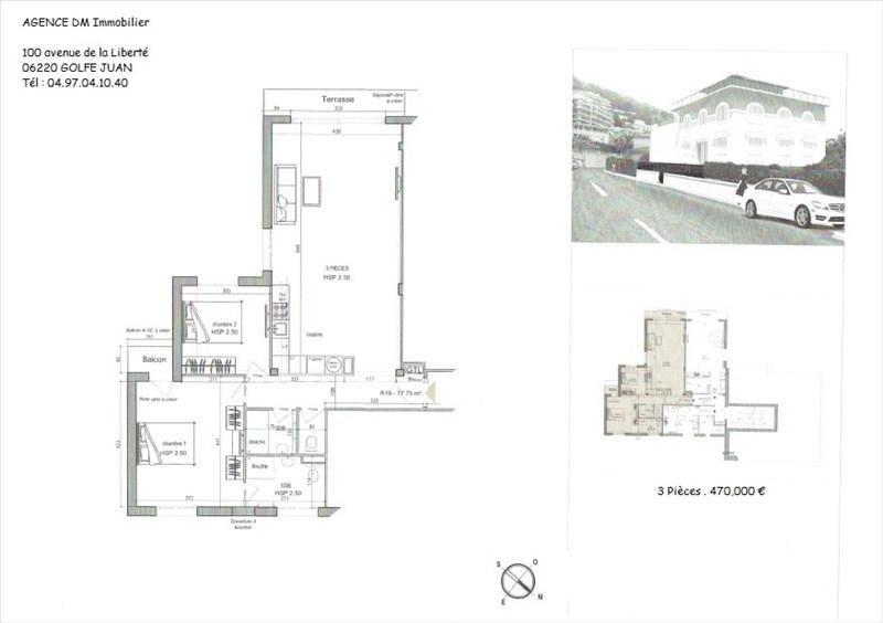 Produit d'investissement appartement Nice 470000€ - Photo 1