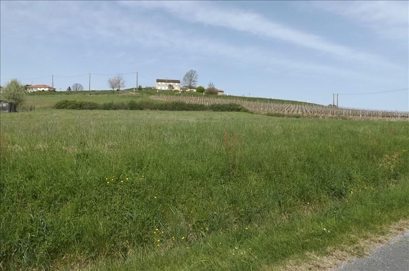 Vente terrain Villefranche de lonchat 23000€ - Photo 1