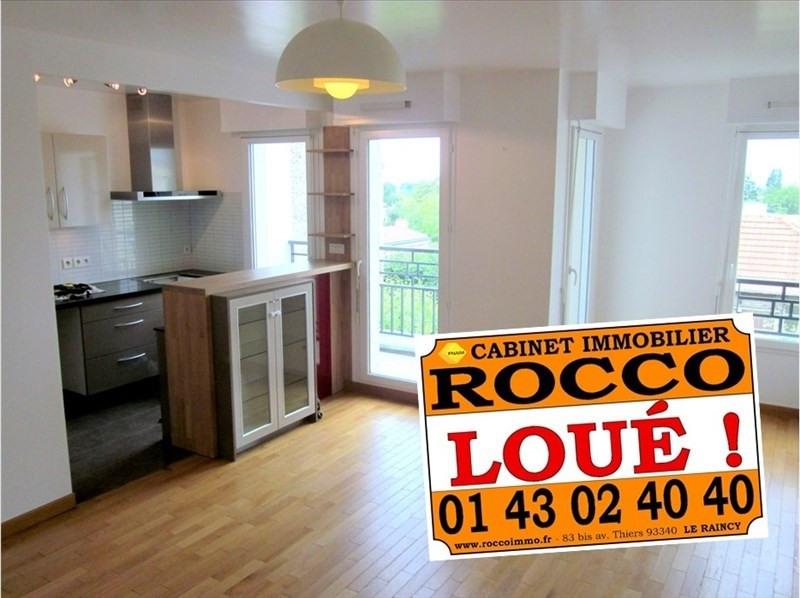Rental apartment Le raincy 1205€ CC - Picture 1