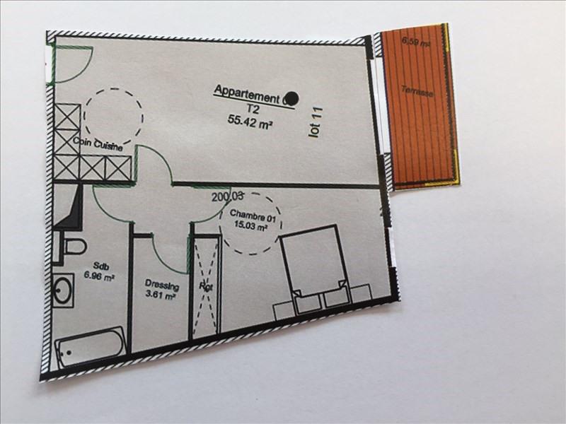 Vendita appartamento Charbonnieres les bains 299268€ - Fotografia 1