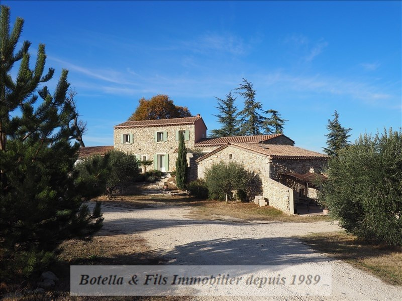 Deluxe sale house / villa St just d ardeche 780 000€ - Picture 10