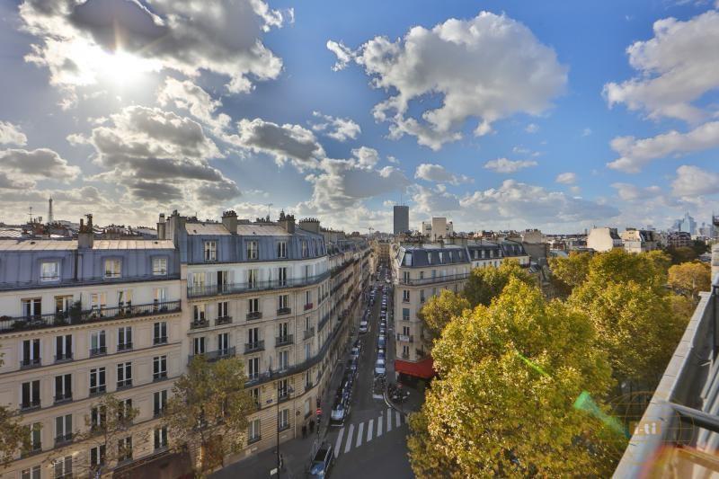 Vente de prestige appartement Paris 17ème 1070000€ - Photo 2