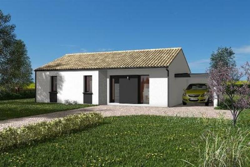 Maison  4 pièces + Terrain 423 m² Saint-Hilaire-de-Riez par maisons PRIMEA