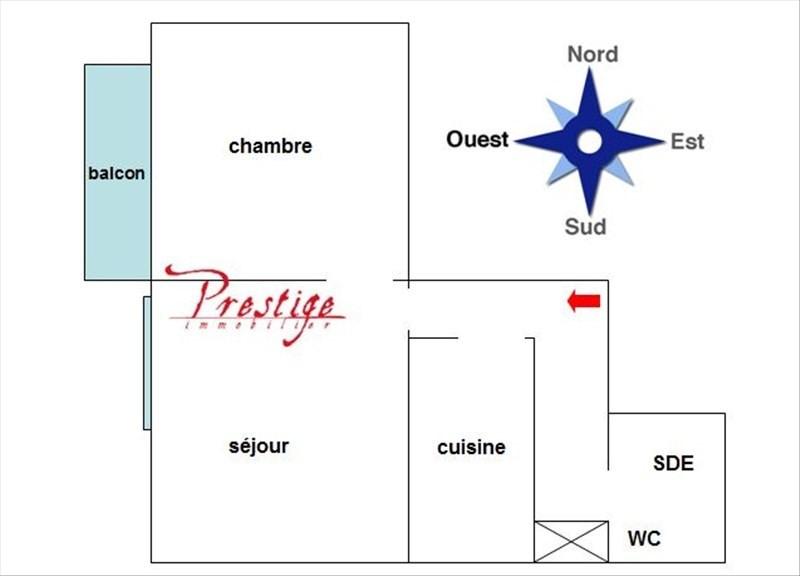 Sale apartment Paris 18ème 395000€ - Picture 4