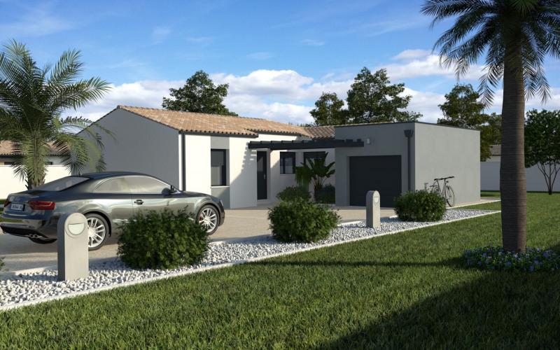 """Modèle de maison  """"Maison moderne 3ch + garage"""" à partir de 4 pièces Dordogne par MAISONS ECG"""