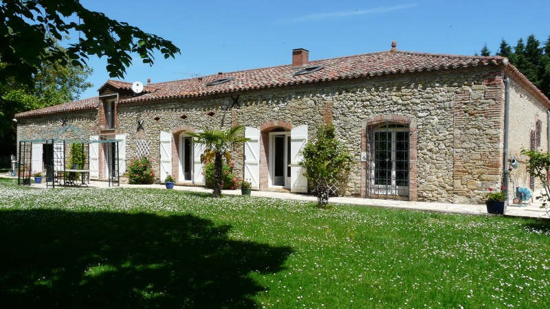 Vente maison / villa 3 mn caraman 545000€ - Photo 1