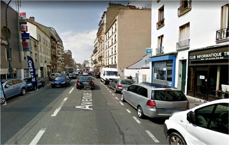 Rental shop Asnières-sur-seine 1180€ CC - Picture 4