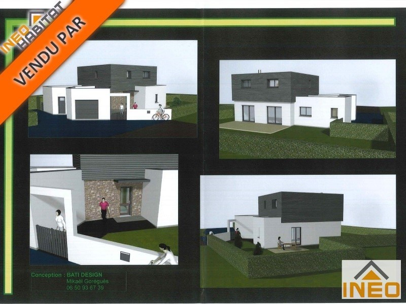 Vente terrain La meziere 156 450€ - Photo 1