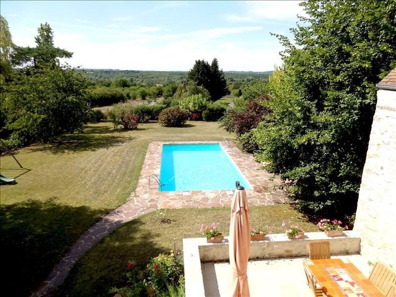 Sale house / villa St martin la garenne 518000€ - Picture 2