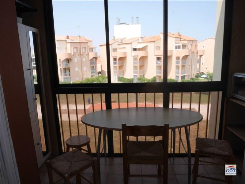 Vente appartement Le barcares 70 500€ - Photo 4