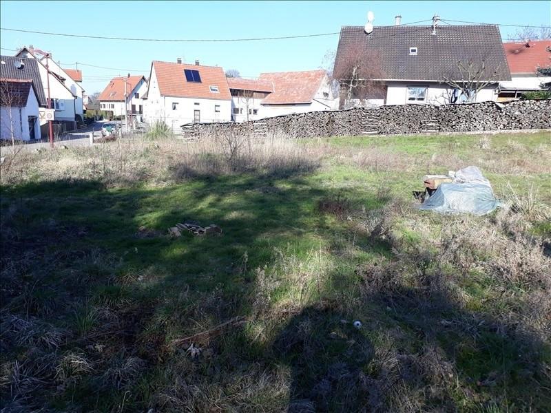 Vente terrain Wissembourg 60500€ - Photo 1