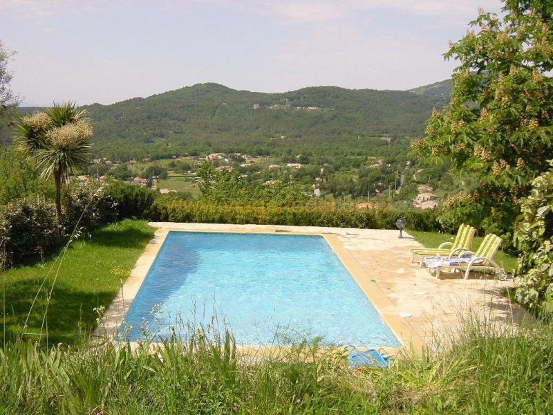 Deluxe sale house / villa Fayence 892500€ - Picture 1