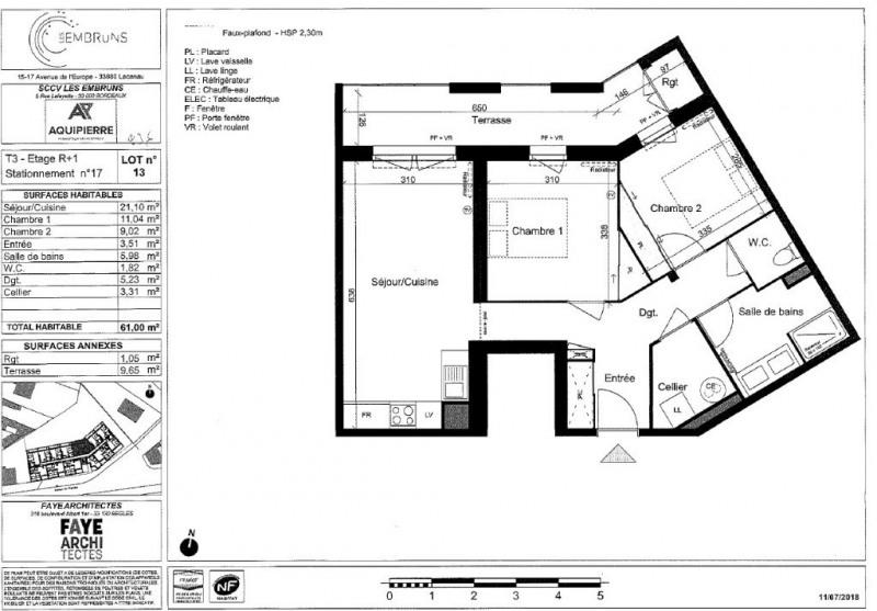 Vente appartement Lacanau ocean 236000€ - Photo 2