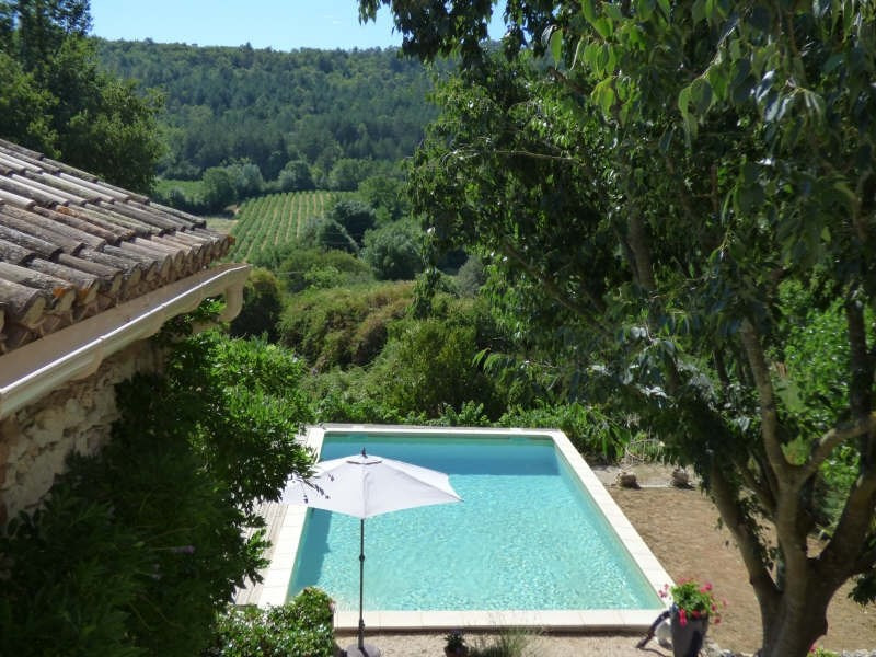 Deluxe sale house / villa Uzes 545000€ - Picture 2