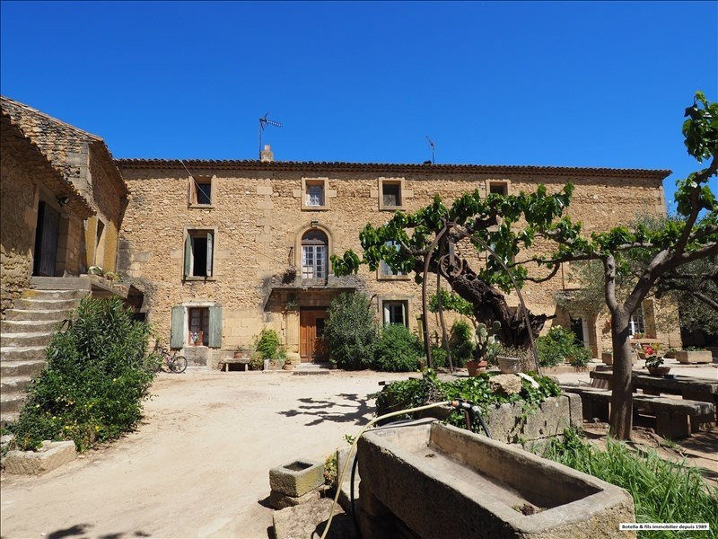 Deluxe sale house / villa Uzes 530 000€ - Picture 1