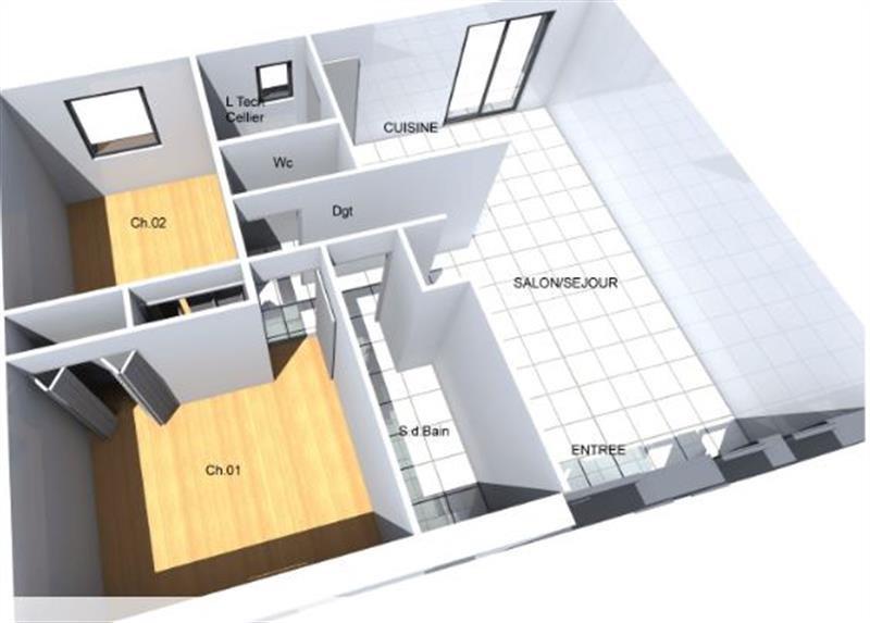 """Modèle de maison  """"Modèle ATHENA"""" à partir de 4 pièces Aisne par VILLACREA"""