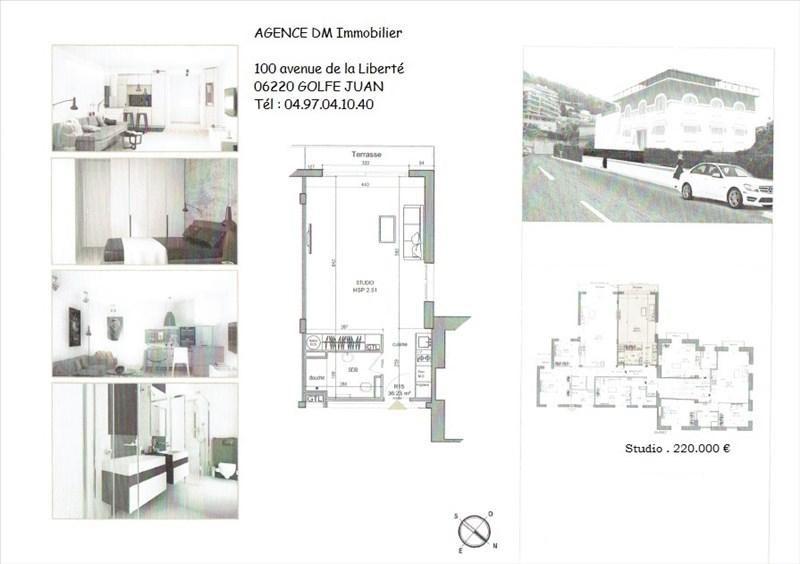Вложения денег в недвижимости квартирa Nice 220000€ - Фото 1