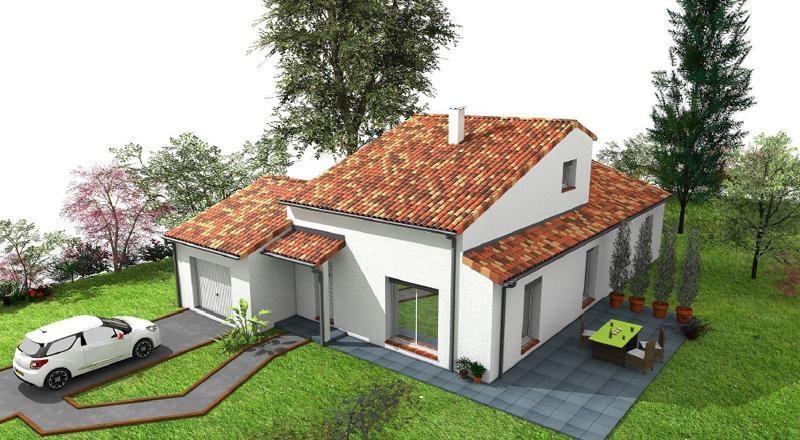 Maison  5 pièces + Terrain 722 m² Aigrefeuille (31280) par LES BASTIDES LAURAGAISES
