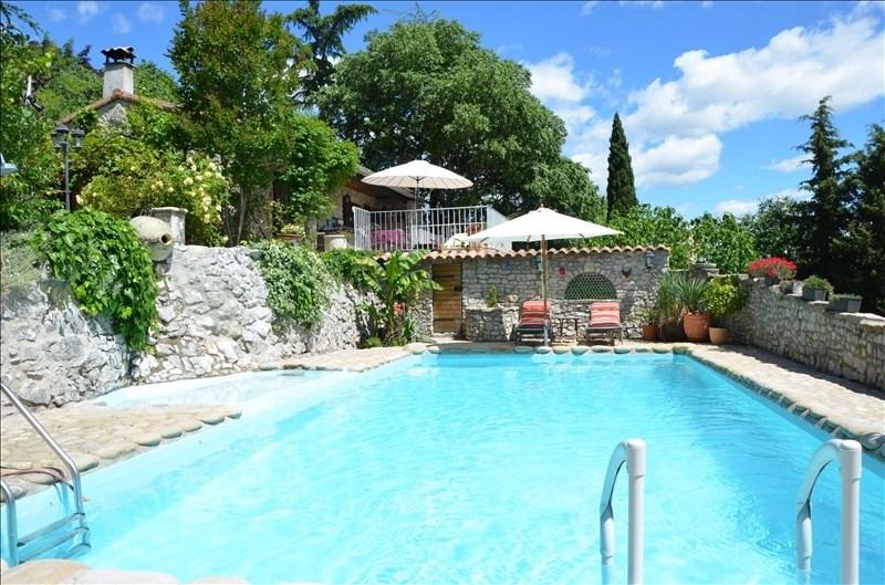 Vente maison / villa Chauzon 371500€ - Photo 1