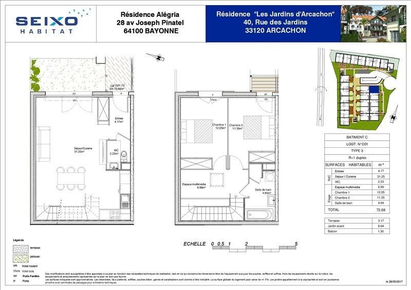 Vente maison / villa Arcachon 310000€ - Photo 3