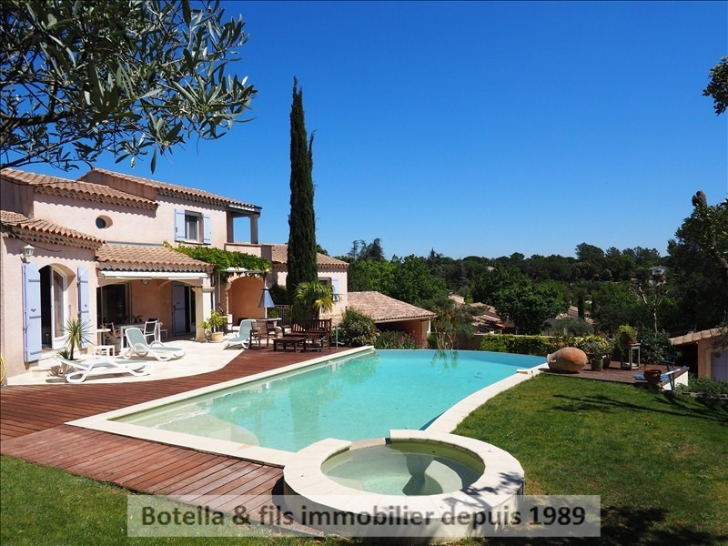 Vente de prestige maison / villa Goudargues 525 000€ - Photo 1