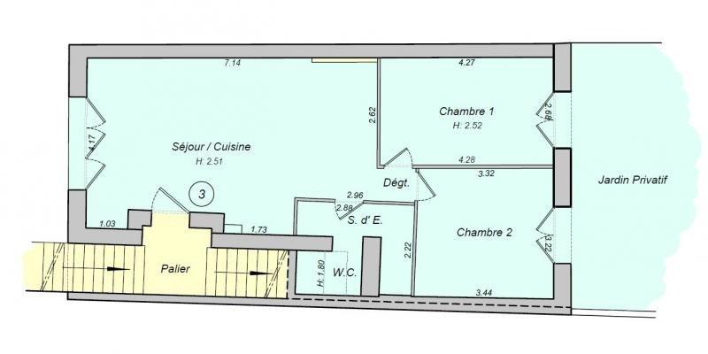Sale apartment Rosny sous bois 295000€ - Picture 5