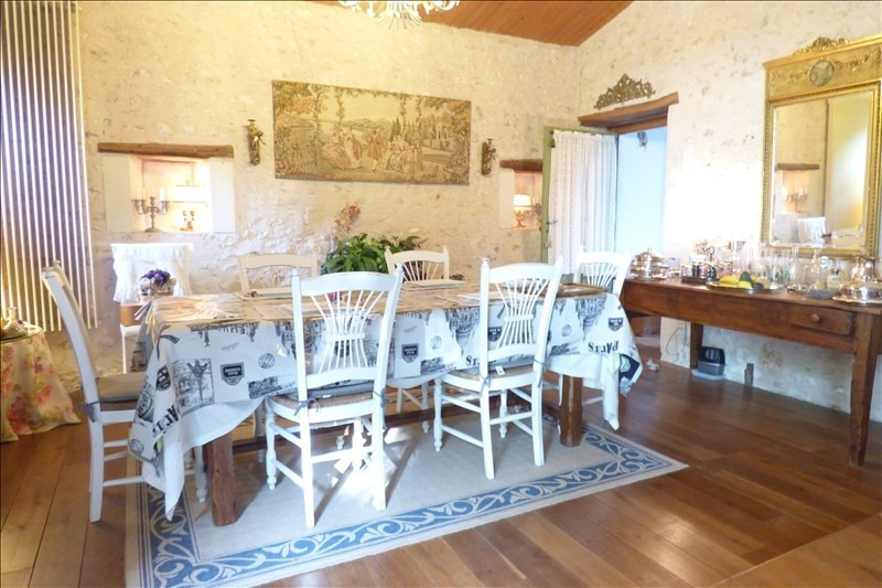 Vente de prestige maison / villa Semussac 614250€ - Photo 1