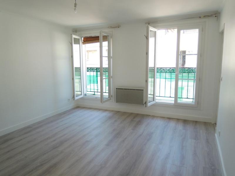 Rental apartment Paris 17ème 1200€ CC - Picture 1