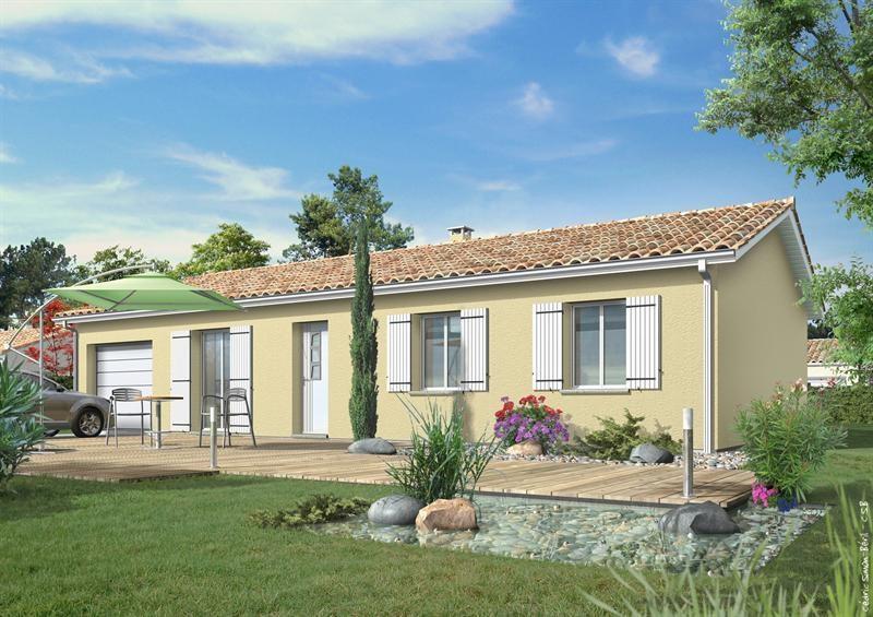 Maison  5 pièces + Terrain 820 m² Ygos Saint Saturnin (40110) par LES MAISONS LCA MONT DE MARSAN