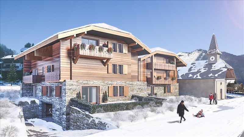 Sale apartment Morzine 283 000€ - Picture 1