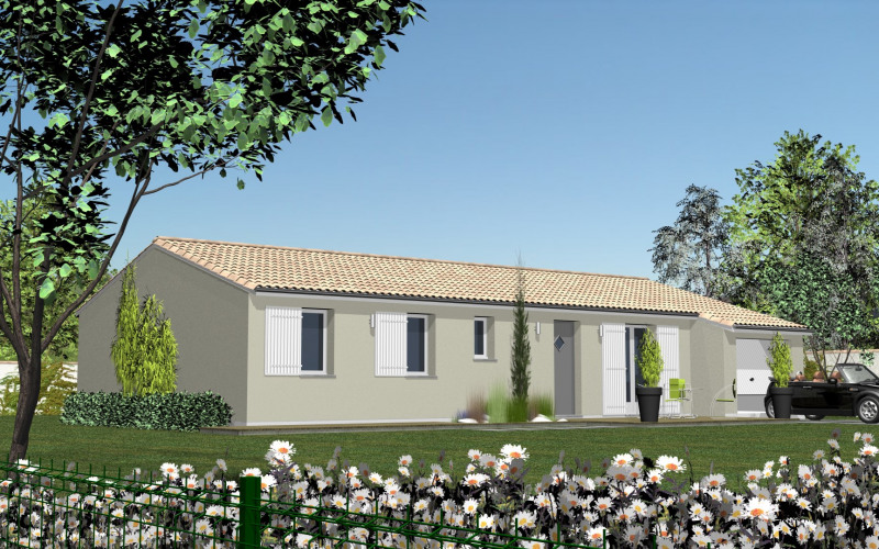 Maison  4 pièces + Terrain 350 m² Parentis-en-Born par Les demeures de la côte d'Argent