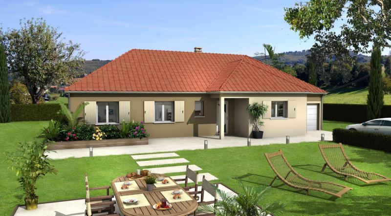 Maison  4 pièces + Terrain 700 m² Neuflize par Villas club