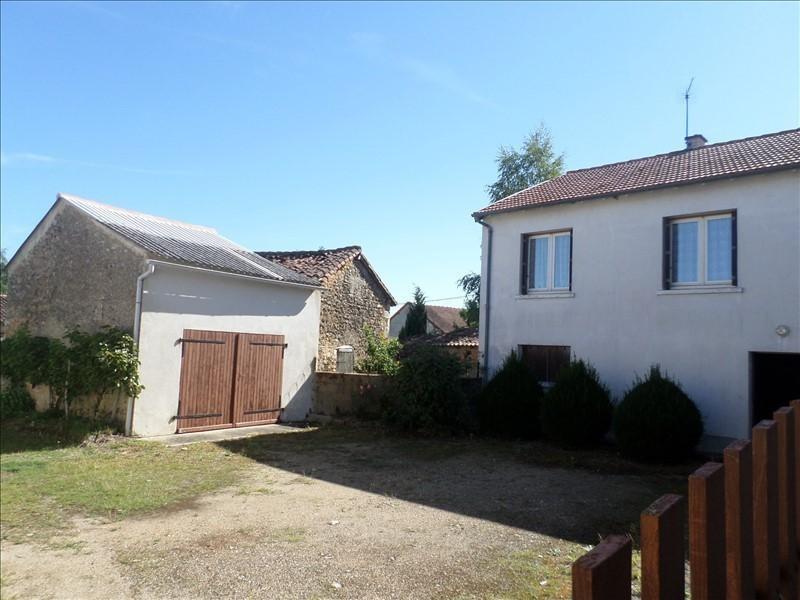 Vente maison / villa Lussac les chateaux 90000€ - Photo 1