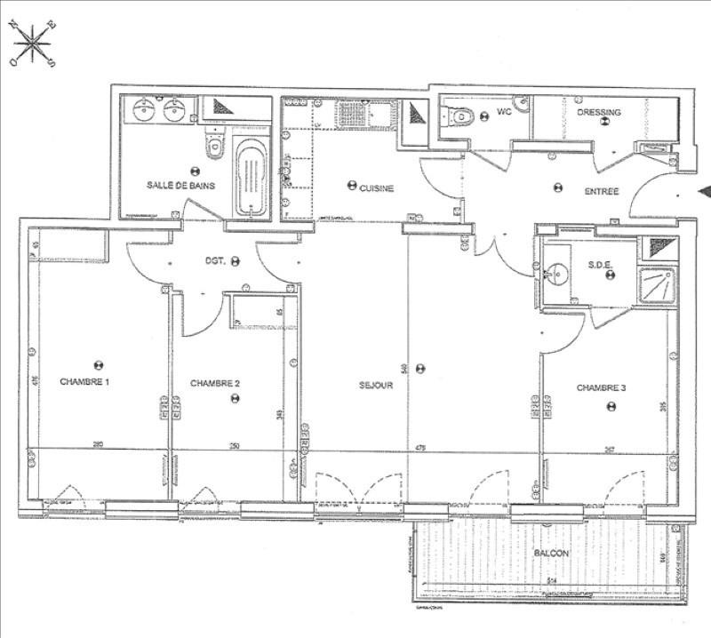 Location appartement Courbevoie 2184€ CC - Photo 2