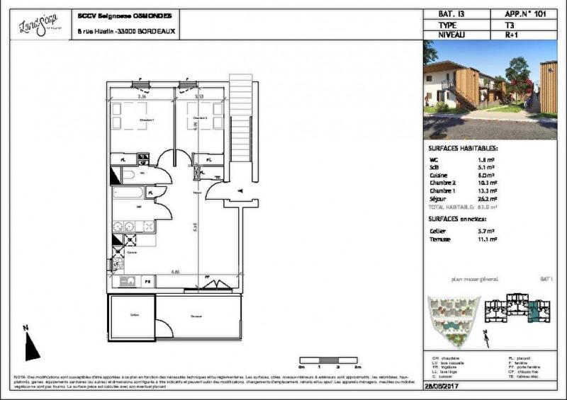 Vente appartement Seignosse 155000€ - Photo 1